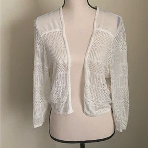 Torrid Open Front Cropped Cardigan Size 1